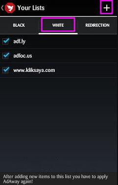 cara menghilangkan iklan di hp android dengan Adway 1