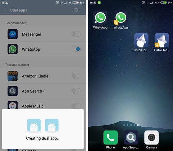 fitur dual apps xiaomi