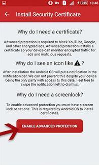 cara menghilangkan iklan di hp android dengan Adclear 4