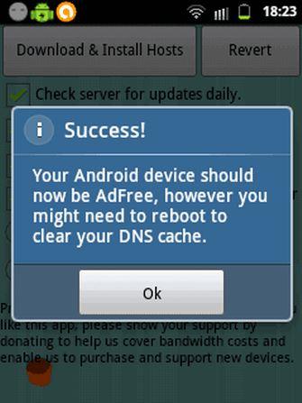 cara menghilangkan iklan di hp android dengan addfree 3