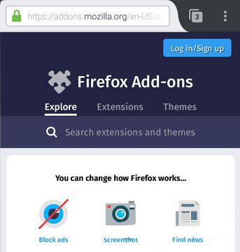 cara menghilangkan iklan di hp android dengan mozilla firefox 5