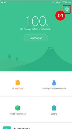 Cara menghilangkan iklan di HP Xiaomi pada aplikasi Pembersih 1