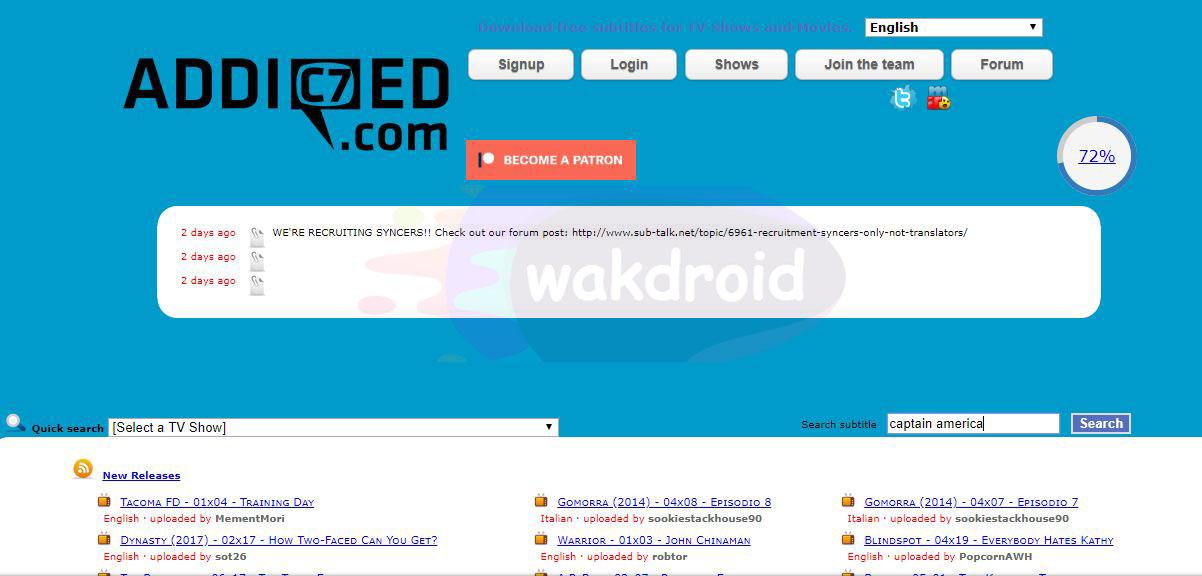 download subtitle indonesia addicted.com 2