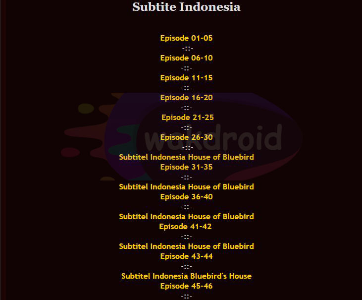 download subtitle indonesia Island Fansubs 3