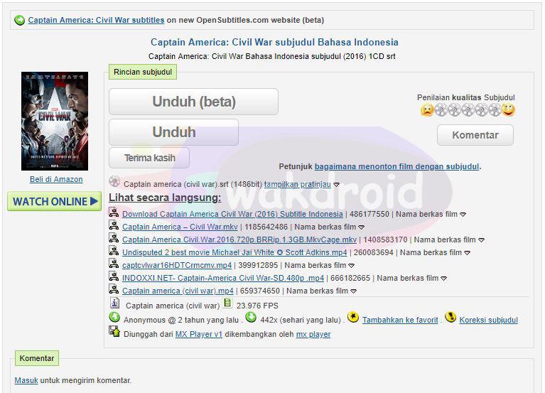 download subtitle indonesia Open Subtitles 4